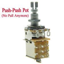 B500K Guitar Bass Push-Push Pot(No Pull Anymore)Guitar Potentiometer