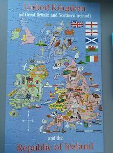 ELC United Kingdom & Republic Of Ireland Map Jigsaw Puzzle - 100 Pieces