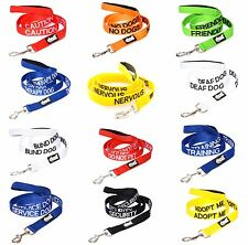 Colour Coded Prevents Accidents By Warning Others In Advance Pet Dog Lead Collar