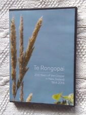 TE RONGOPAI: 200 YEARS OF THE GOSPEL IN NEW ZEALAND 1814 -2014 (DVD) REGION- ALL