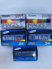 Lot of 5 sealed 35mm color film expired 2007/2008