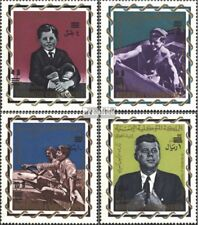 Yemen(UK) 207A-210A (complete issue) unmounted mint / never hinged 1966 Presiden