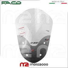 FACO CUPOLINO PARABREZZA BASSO SPOILER FUME/' SCURO GILERA GP 800 GP800 2009 201