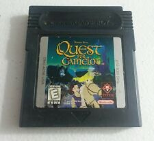 QUEST FOR CAMELOT NINTENDO ORIGINAL GAMEBOY COLOR GB GAME WORKING
