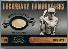 2003 Donruss Classics Legendary Lumberjacks MEL OTT Bat National #1/1 SP BGS 8.5