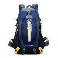 40L Travel Hiking Backpack Waterproof Outdoor Sport Camping Daypack Rucksack Bag