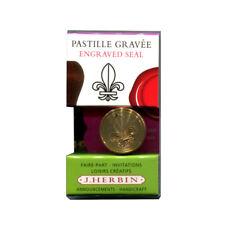 Herbin Brass Wax Seal Lily/Fleur De Lys