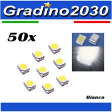 50 Pezzi Diodo LED SMD 3528 Luce Bianca Ultra Brillante Super Bright 3528 Led