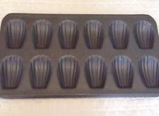 French Madeleine Nonstick Pan Dessert Baking cake Shell 12 Count Cavities