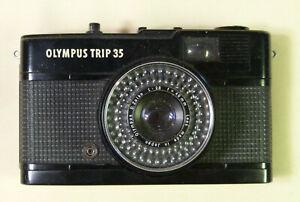 appareil photo ancien argentique Olympus trip 35