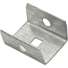 10 Pk Galvanized Steel Box Barn Sliding Shed Door Rail End Cap N104307