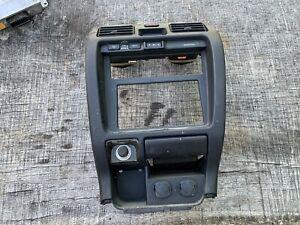 99-02 Toyota 4Runner 4 Runner ALL BLACK Radio Stereo A/C Climate Dash Bezel Trim