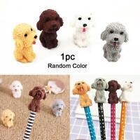 New Novelty Cartoon Animal Dog Eraser Stationery Supplies Kids Gift Random Color