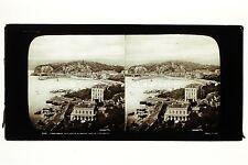 Panorama de Nice France Vintage Stereo Ferrier Soulier ca 1860