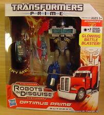 TRANSFORMERS Animated OPTIMUS PRIME 8 inch figure Prime MIB!