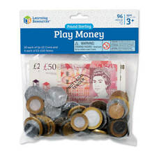 Learning Resources - UK Money Pack - Children's Counting Play Money Set
