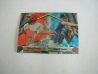 1994 BOWMAN'S BEST BARRY LARKIN-DEREK JETER CARD #95 REDS, YANKEES HOF