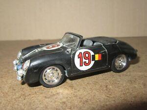 863Q Brumm S017 Italy Porsche 356 Spider #19 Rally Of Alps 1950 Black 1:43
