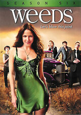 Weeds ~ Season Six ~ 3-Disc DVD Set WS ~ FREE Shipping Within USA
