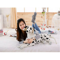 35'' Giant Big Dalmatians Dog Stuffed Soft Plush Lifelike Animal Toys Doll Gift