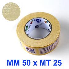 NASTRO BIADESIVO TELA fissaggio moquette corsia passatoia nuziale tappeto 5/15cm