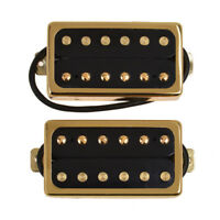 Sealed Guitar Humbucker Pickups Double Coil Pickup Set Gold Frame