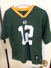 Aaron Rogers used Green bay Packers  youth jersey youth XL