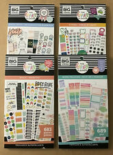 Set Of 4 The Happy Planner Fitness Goals Themed Sticker Books