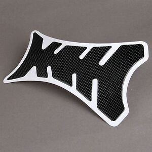 Universal 3D Carbon Fiber Rubber Fuel Gas Oil Tank Pad Decal Sticker Protector