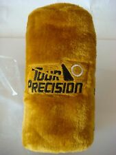 NEW IN PACKAGE Tour Precision Gold/Black Slip On Golf Club Headcover (B398)