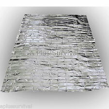 5 Pack Emergency Survival Safety Mylar Solar Blanket Wrap Thermal Escape Shelter