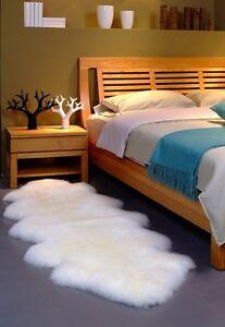 100% Genuine Sheepskin Lambskin Rug 180cm*55cm