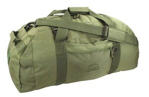 100 L EXPEDITION BAG waterproof loader rucksack base camp duffle pack Army Olive