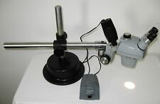 Bausch & Lomb Stereoscopic Stereo Zoom Microscope w/ All Metal Industrial Stand