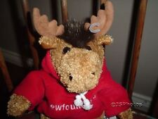 Stuffed Animal House Curly Critters Monty Moose