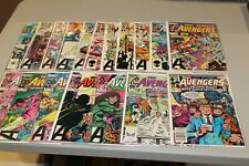 Complete Set Run Avengers 239-256 Vision Black Knight Thor Hercules Namor Wanda