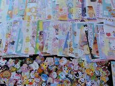 STICKERS & MEMO NOTE PAPER kawaii cute stationery san-x sanrio gift daughter Lot