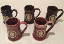 Iron Hill Brewery Large Tankard Beer Mug Stein Handmade in Usa 5 Mug Collection