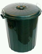 50L 50 Litre Bin Nappy Rubbish Litter Garbage Trash Bins With Lid