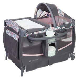 Baby Nursery Set Bed Changing Station Bluebell Girl Newborn Deluxe Playpen New