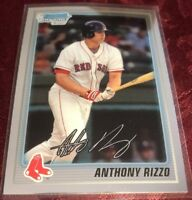 Anthony Rizzo 2010 Bowman Chrome RC Rookie Card #BCP101, Chicago Cubs
