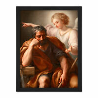 Anton Raphael Mengs The Dream Of St Joseph Large Framed Art Print