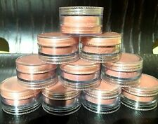 Set of 10 Avon Shimmer & Glow Luminous Powder - Peach Glow! New, no box/label.