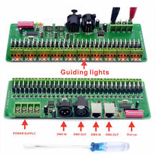 30channel DMX 512 RGB LED Strip Controller DMX Decoder LED DMX Dimmer Driver 12V