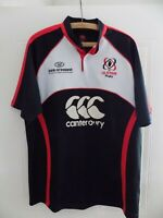 Ulster Rugby Union Guiness Shirt Retro Jersey Adults Top Canterbury Mens Size L