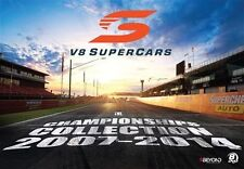 The V8 Supercars - Championships Collection 2007-2014 (DVD, 8-Disc Set) SEALED