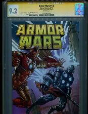 ARMOR WARS 1/2 TOYS R US TRU EDITION VARIANT CGC 9.2 SS AUTO/ SCOTT HANNA