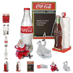 *Auswahl* retro Coca-Cola Fanartikel Geschenke Coca Cola Spardose Weihnachtsmann