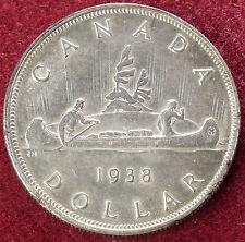 Dólar de Canadá 1938 (D1603)