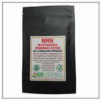 Meilleur Vente Nmn 250mg Végétarien Capsules 60 Nicotinamide Mononucleotide 99.8